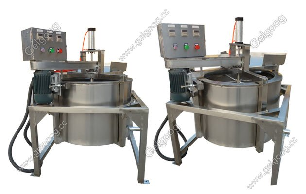 anti-oil fried food machine for potato chips