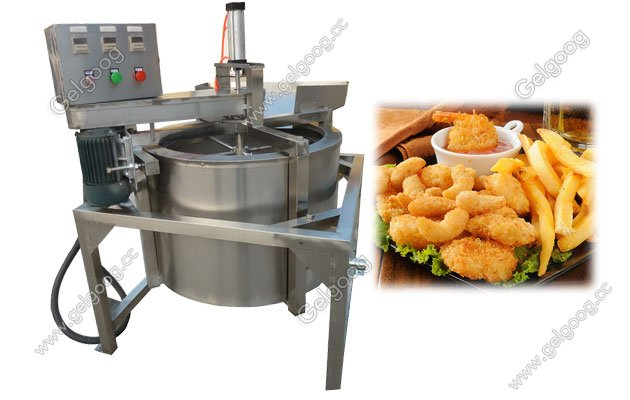 anti-oil fried food machine for fried chicken