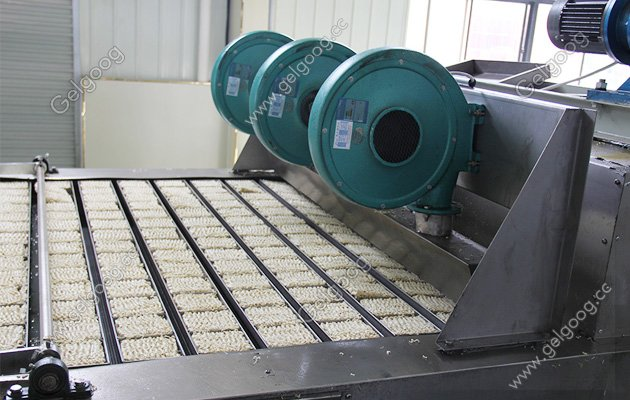 Non-fired instant noodle production line manufacturer in china