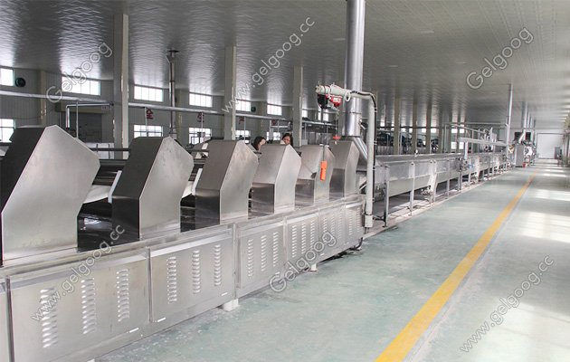 Dried Insatnt Noodles Making Machine