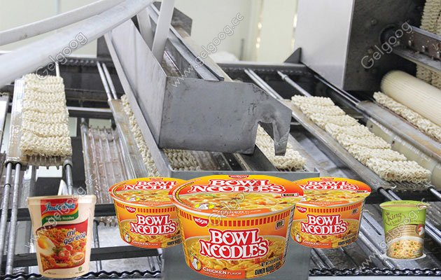 Bowl Cup Instant Noodle Production Line