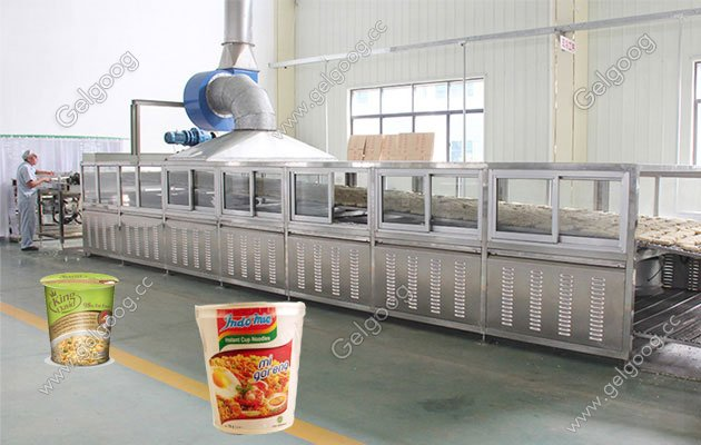 hot sale bowl cup instant noodle process line