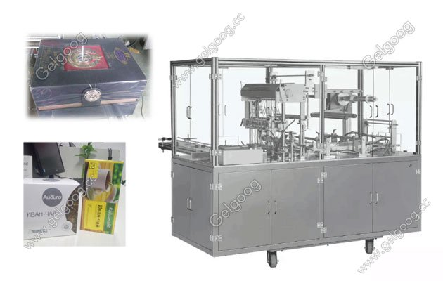Fully Automatic Cellophane Packaging Machine for cigarette