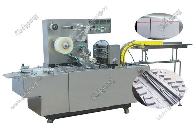 Cellophane Playing Card Wrapping Machine with Glass Paper