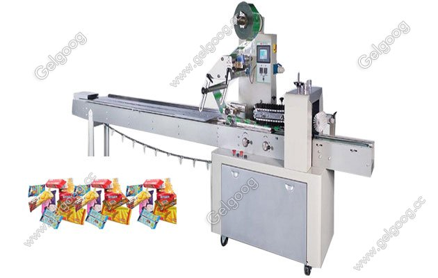 Automatic Pillow Type Packing Machine for Sack Food