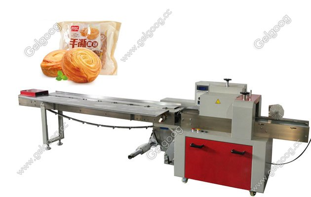 bread flow wrapping machine