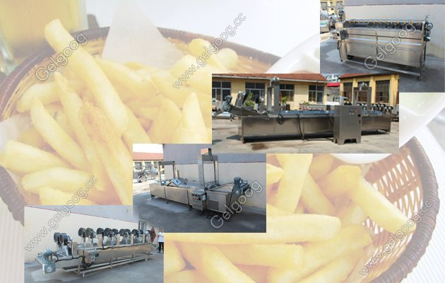 potato french fries making machine supplier in china