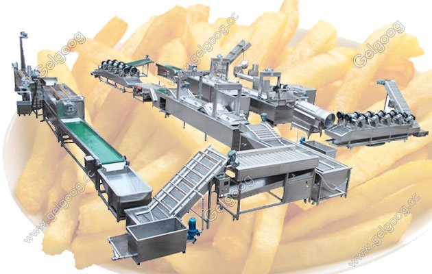 full auotomatic finger chips machine supplier