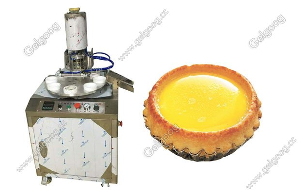 automatic egg tart making machine