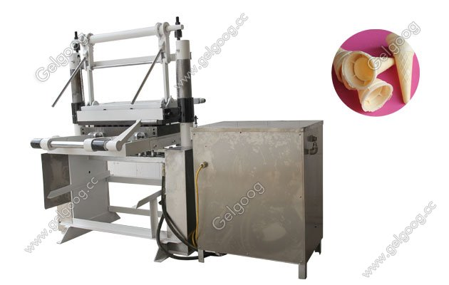 manual type wafer cone making machine
