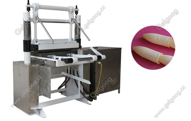 manual type ice cream wafer cone making machine