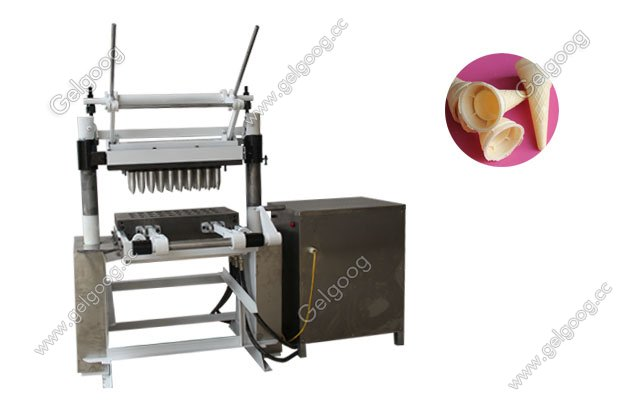manual type ice cream wafer cone machine