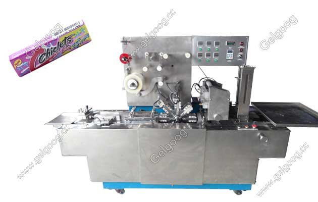 Hot Sale Chiclets Stick Cellophane wrapping Machine