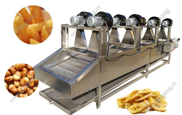 fried food cooling machine manufacturer