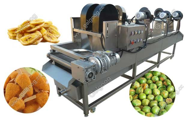 commercial fried food air drying machine