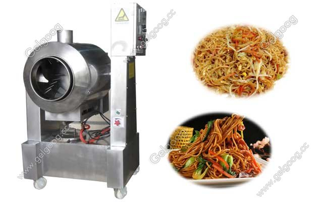 multifuntcion frying machine for rice and noodle guangzhou gelgoog company