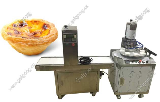 Automatic Portuguese Egg Tartle Making Machine with low price