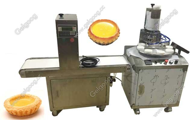 Chinese Egg Tarts Making Machine|Egg Tart Forming Machine