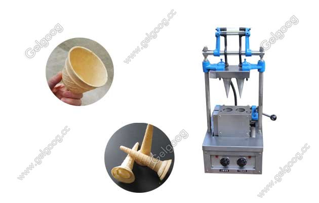 wafer ice cream cone machine for small business