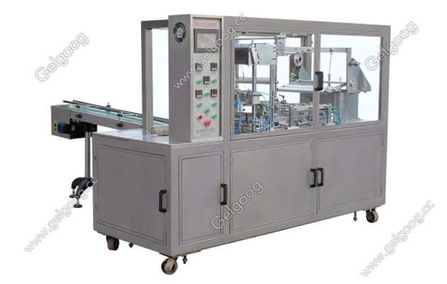 perfume box cellopahne wrapping machine