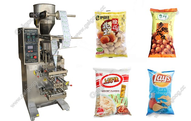 automatic granule packing machine for snack food