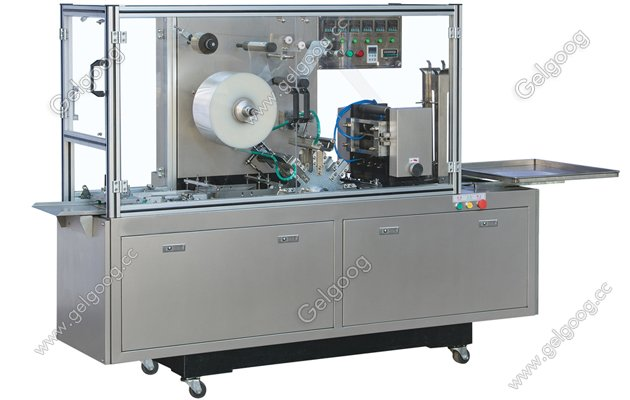 transparent film 3D cellophane overwrapping machine