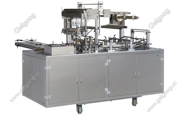 3D cellophane overwrapping machine