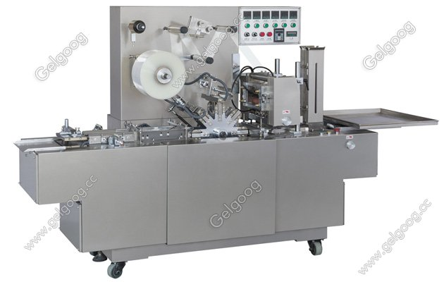 Transparent Film Wrapping Packing Machine For Box