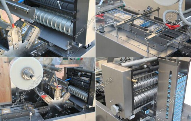 Transparent Film cellophane Wrapping Packing Machine For Box