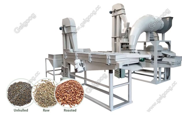 bulkwheat dehulling machine