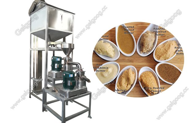 peanut butter manufacturing production line