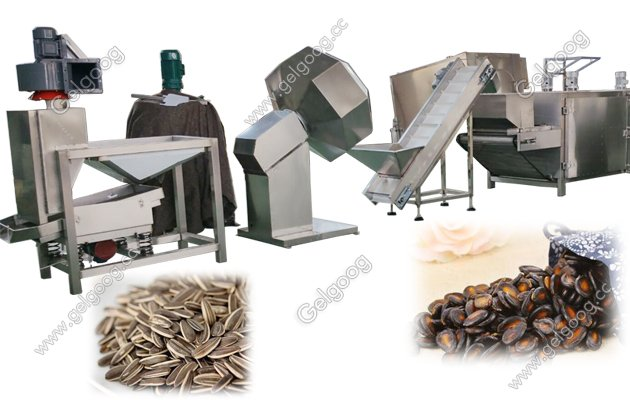 sunflower roasting production line