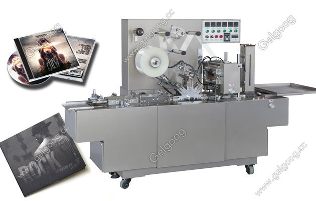 cd cellophane wrapping machine