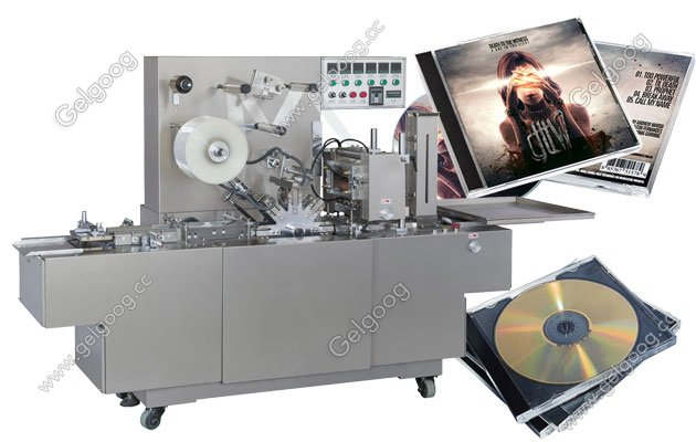 Full Automatic CD Cellophane Wrapping Machine For Sale