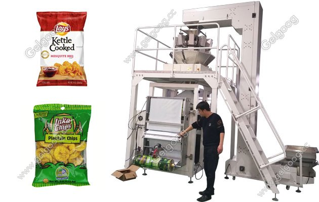 full automatic weight and packaging machine video