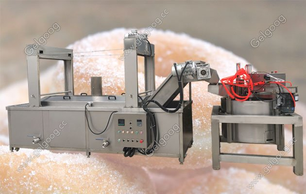 commercial circlar donut frying machine for sale