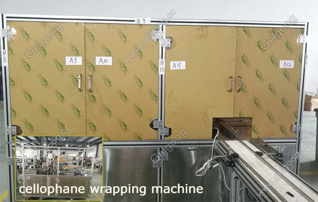 automatic cellophane wrapping machine south africa
