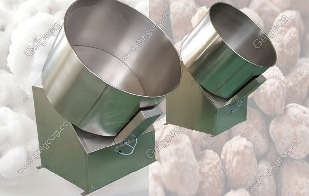 price of peanut coating machine