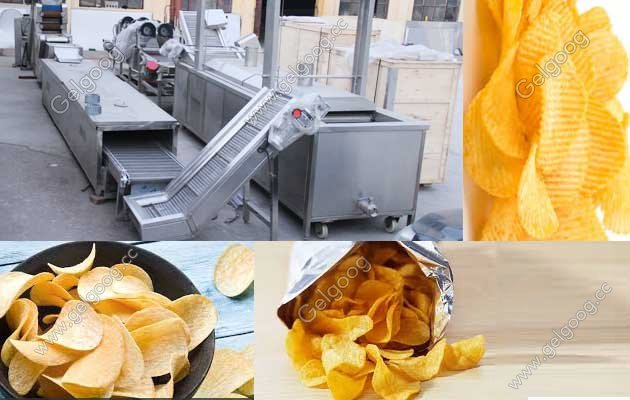 potato chips manufacturing plant in India