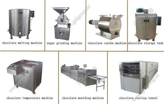 Automatic Chocolate Making Process Machine