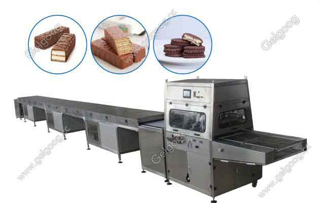 Perfect Chocolate Enrobing Machine Manufacturer Price
