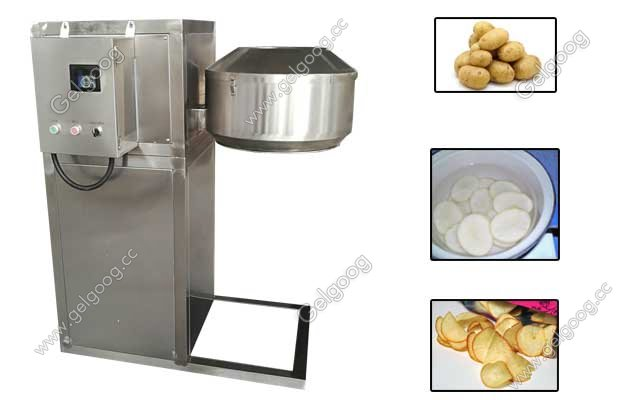 Industrial Potato Chip Cutter
