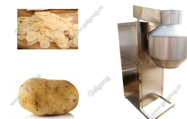 potato chips cutting machine price