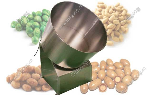 peanut coating machine picture