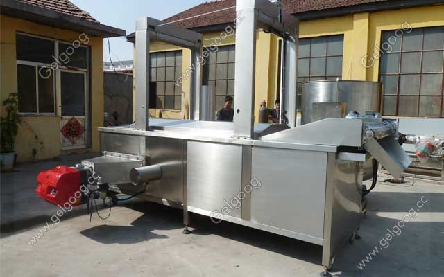 cost of commercial groundnut frying machine