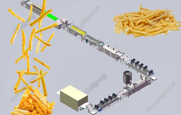 small scale french fries production line factory design free