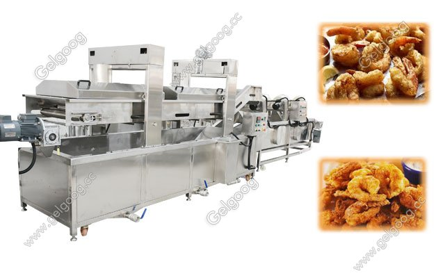 Tempura Shrimp Frying Machine/ Fried Shrimp Machine